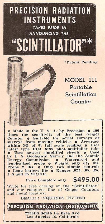 PRI Model 111 1954